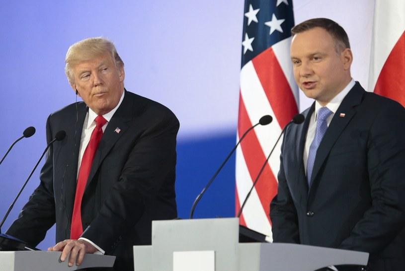 Dojdzie do spotkania Andrzeja Dudy z Donaldem Trumpem? /Adam Jankowski /Reporter