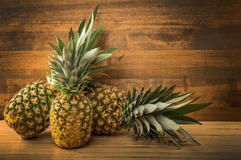 Dojrzałe ananasy /©123RF/PICSEL