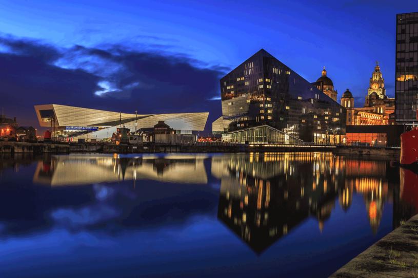 Doki i nabrzeża, z muzeum Liverpoolu /123RF/PICSEL