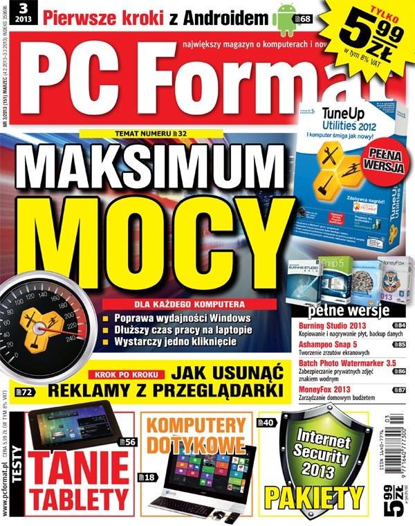 Dokładna specyfikacja i wyniki testu konkretnych elementów w najnowszym numerze PC Format 3/2013 /materiały prasowe