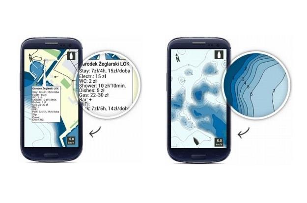 Dokładne mapy batymetryczne oraz informacje o cenach usług dostępnych w porcie /INTERIA.PL/informacje prasowe