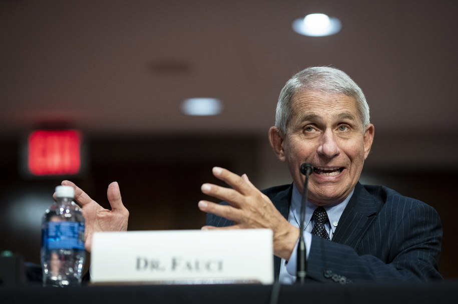 Doktor Anthony Fauci /AL DRAGO / POOL /PAP/EPA