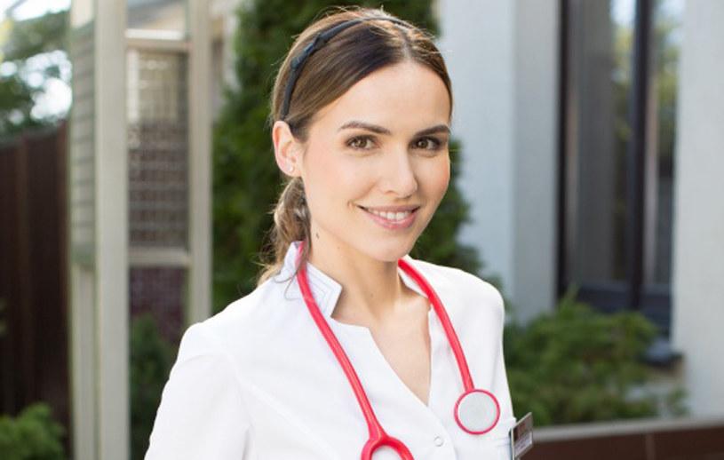 Doktor Hanna Sikorka (Marta Żmuda Trzebiatowska) /Agencja W. Impact