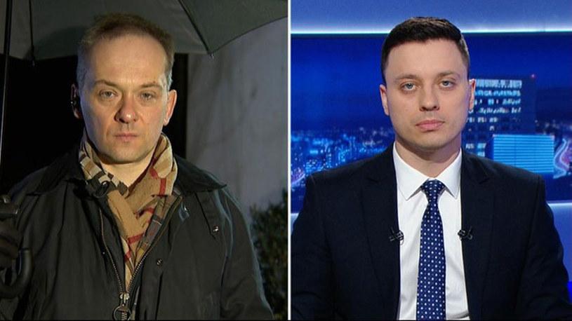 Doktor Konstanty Szułdrzyński był gościem Piotra Witwickiego w Polsat News /Polsat News