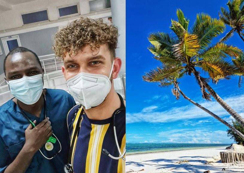 Doktor Łukasz Durajski jest obecnie na Zanzibarze. Opowiada nam, jak wygląda na miejscu sytuacja związana z koronawirusem /Archiwum prywatne /archiwum prywatne