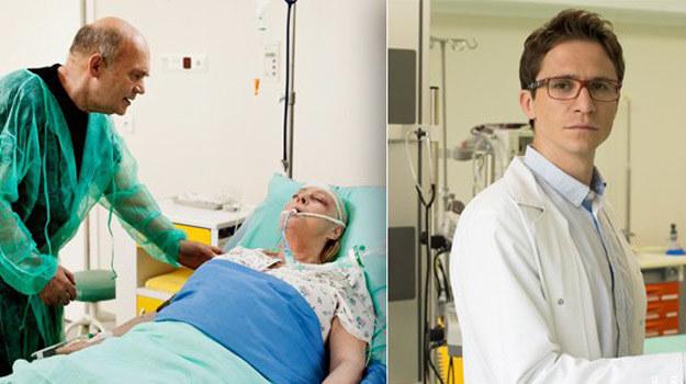 Doktor Świderski (Sambor Czarnota) pojawi się w serialu w dramatycznych okolicznościach. /ARTRAMA