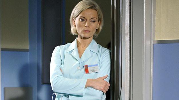 Doktor Zosia Stankiewicz- Burska (Małgorzata Foremniak) ma poważny problem / fot. Gałązka /AKPA