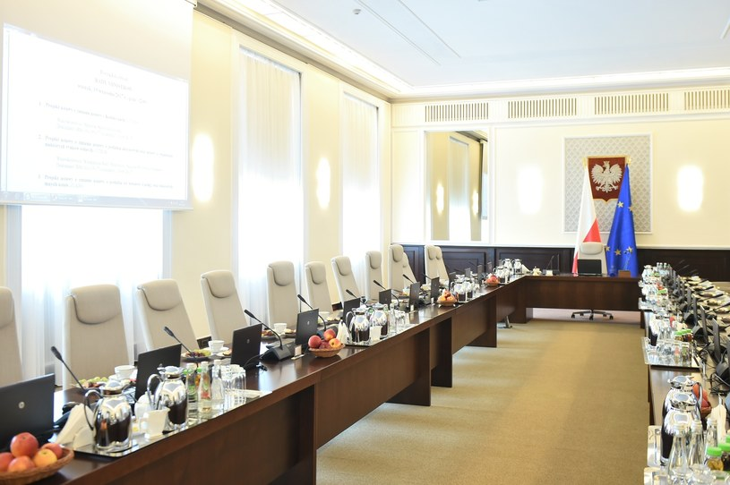 Dokument przygotowano w Kancelarii Premiera Rady Ministrów /Rafał Oleksiewicz /Reporter