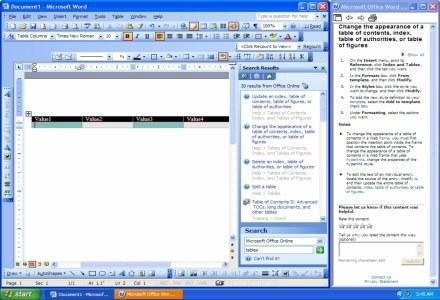 Dokument tekstowy zajmuje jedynie 25 proc. ekranu. /materiały prasowe