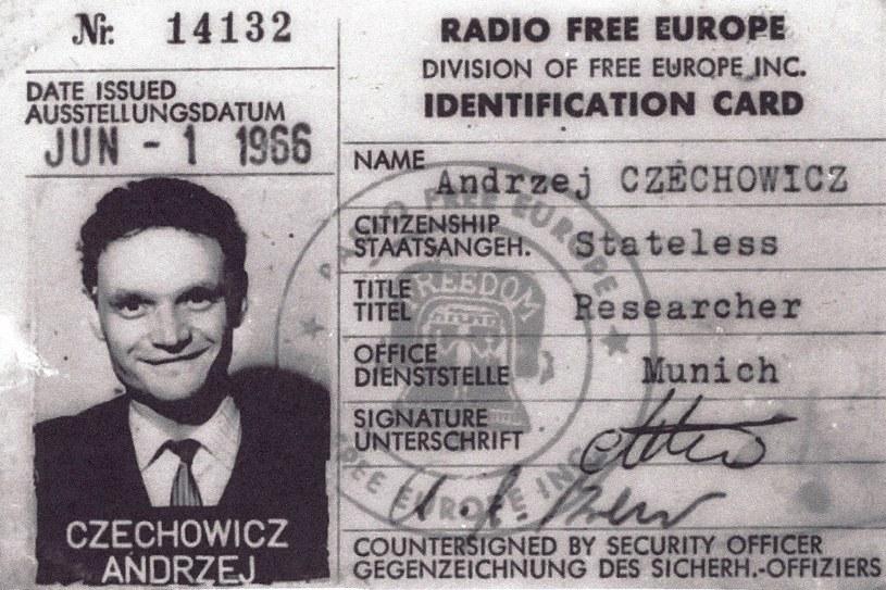 Dokumenty Andrzeja Czechowicza z czasów pracy dla wywiadu PRL /Hoover.org /materiały prasowe