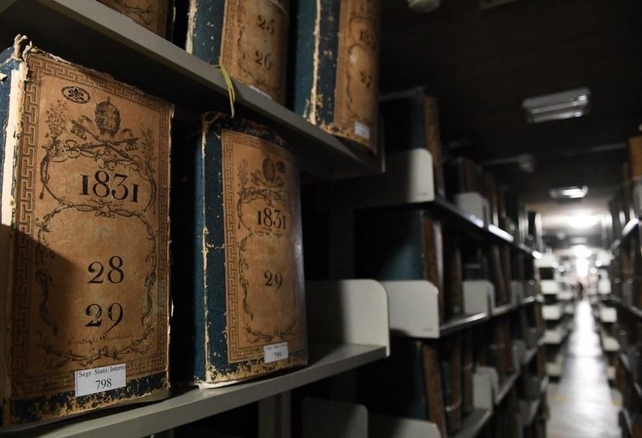 Dokumenty watykańskiego archiwum dotyczące II wojny światowej liczą miliony stron i są podzielonej na 121 sekcji / Vandeville Eric/ABACA /PAP/EPA