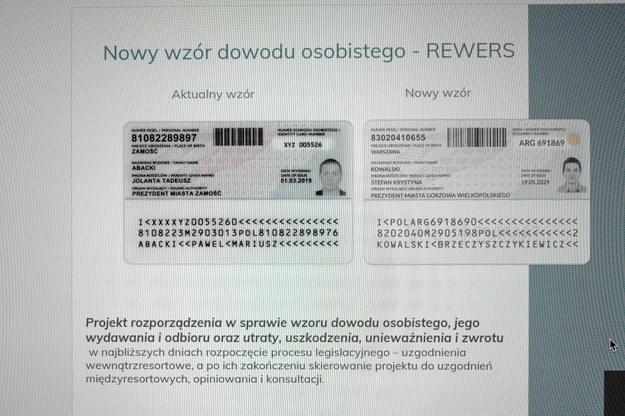 Dokumenty zmienią się m.in. pod względem graficznym /Mateusz Marek /PAP