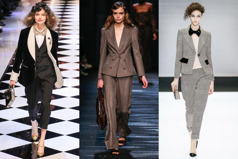 Dolce&Gabbana/Blumarine/Giorgio Armani /East News/ Zeppelin