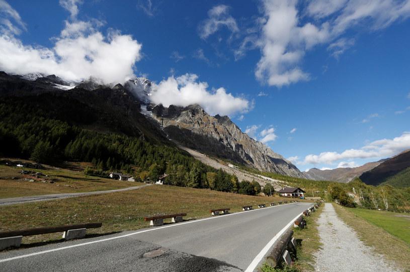 Dolina Ferret we włoskich Alpach /YARA NARDI/Reuters /Agencja FORUM