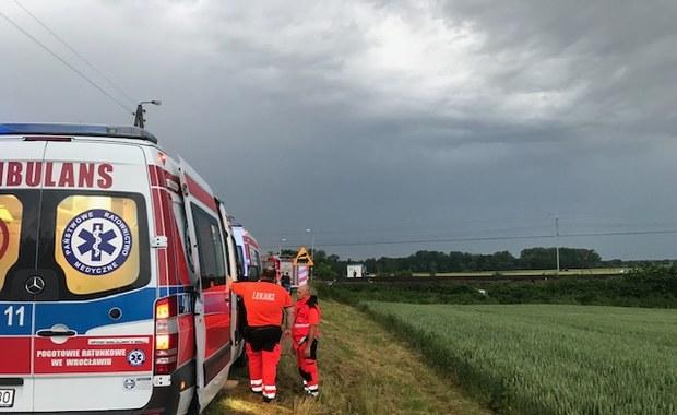 Dolnośląskie: Tragedia na przejeździe kolejowym. Zginęło pięć osób