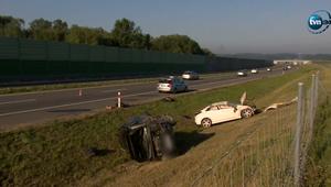 Dolnośląskie: Wypadek na S8. Sześć osób rannych