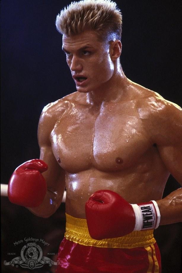 Dolph Lundgren w roli Ivana Drago /materiały dystrybutora