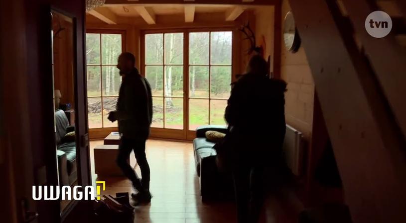 Dom Anity Lipnickiej znajduje się w lesie /TVN