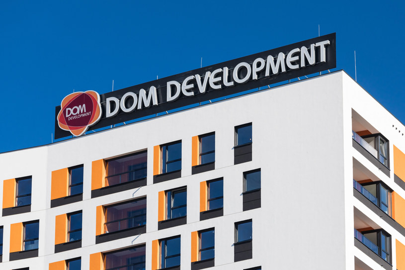 Dom Development w 2019 roku zanotował rekordowy zysk o 13 proc. wyższy niż rok wcześniej.Fot. Arkadiusz Ziołek /East News