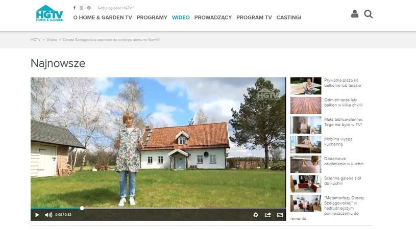 Dom Doroty Szelągowskiej na Warmii (screen: hgtv.pl) /materiał zewnętrzny