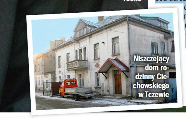 Dom Grzegorza Ciechowskiego w Tczewie /Życie na gorąco
