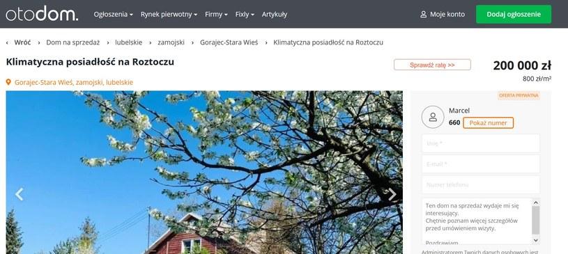 Dom Ilony Ostrowskiej na sprzedaż /