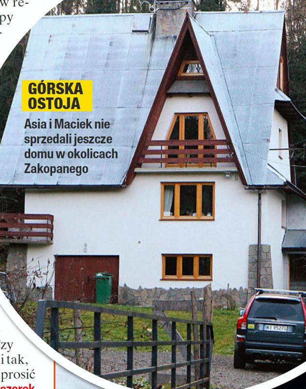Dom Joanny i Maćka w okolicach Zakopanego /Na żywo