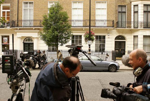 Dom Madonny w Londynie - front... /AFP