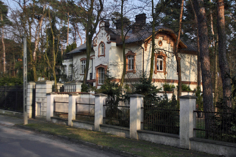 Dom Maryli w Konstancinie /Agencja Stoppa /Agencja FORUM