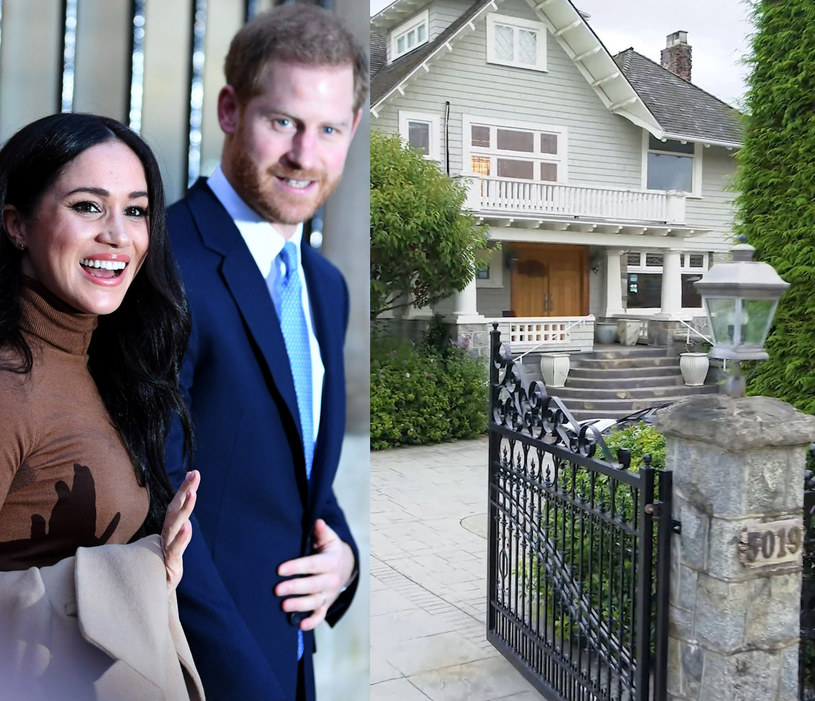 Dom Meghan i Harry'ego w Kanadzie /Daniel Leal-Olivas/Press Association /East News