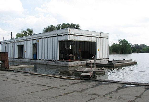 Dom na wodzie/fot. Robert Włodarek /wroclaw24.net