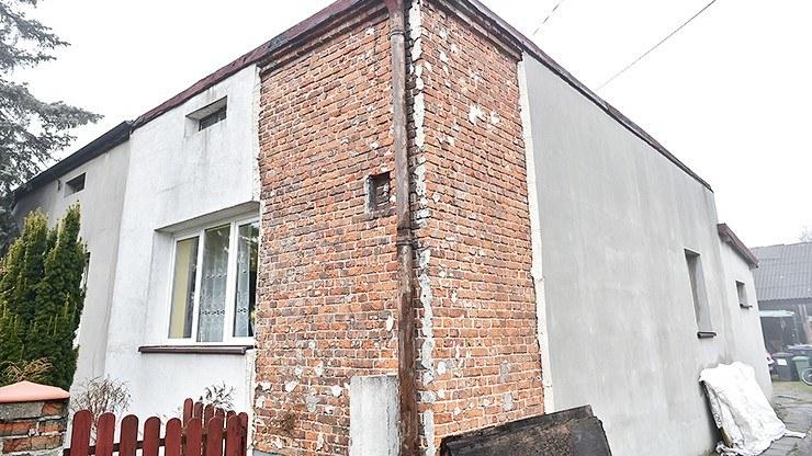 Dom pani Anny był w fatalnym stanie /Polsat