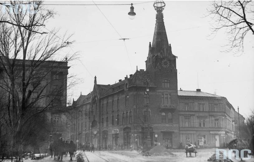 Dom Pod Globusem - zdjęcie wykonane między rokiem 1920 a 1939 /Z archiwum Narodowego Archiwum Cyfrowego
