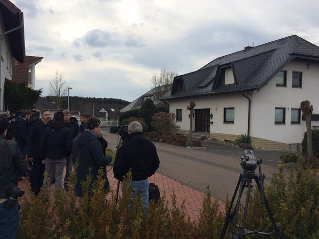Dom rodziców Andreasa Lubitza /Adam Górczewski /RMF FM