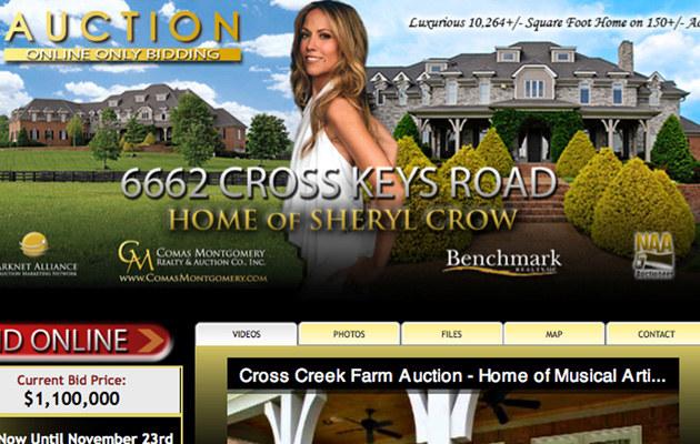 Dom Sheryl Crowy wystawiony na sprzedaż  /Splashnews