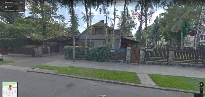 Dom Staraków to dziś siedziba Watchout Studio (Screen: Google maps) /materiał zewnętrzny