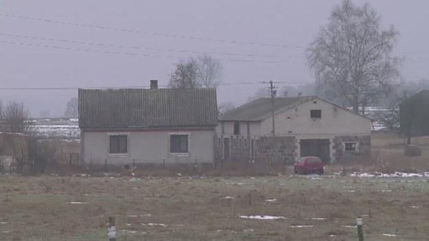 Dom, w którym doszło do ataku na policjantkę /TVN24/x-news