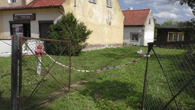 Dom, w którym doszło do zbrodni /Piotr Bułakowski /RMF FM