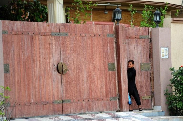 Dom, w którym mieszkał Osama bin Laden /AFP