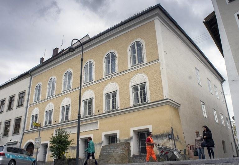 Dom, w którym urodził się Hitler /AFP