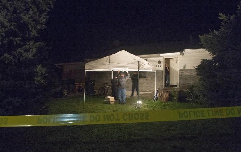 Dom, w którym znaleziono ciała 5 osób /AP/FOTOLINK /East News