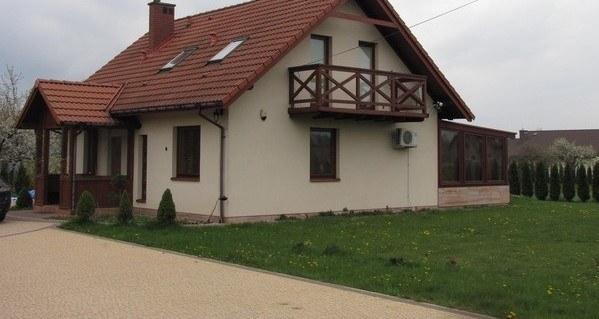 Dom, w którym znaleziono ciało dziecka /Maciej Pałahicki /RMF FM