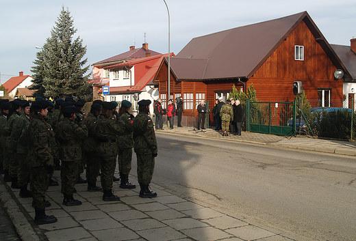 Dom w Limanowej, w którym nocował Józef Piłsudski. Fot: Małgorzata Żyłko/INTERIA.PL /