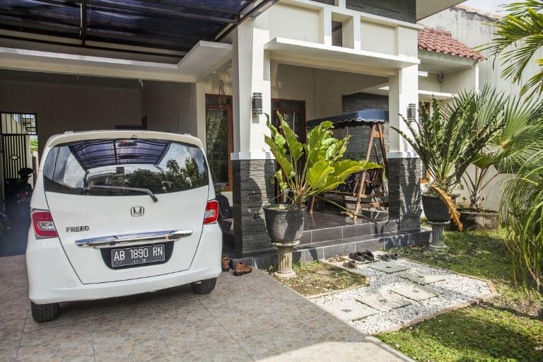 Dom w Sleman, na wyspie Jawa /AFP