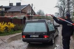 Dom w Wołominie, gdzie doszło do rodzinnej tragedii