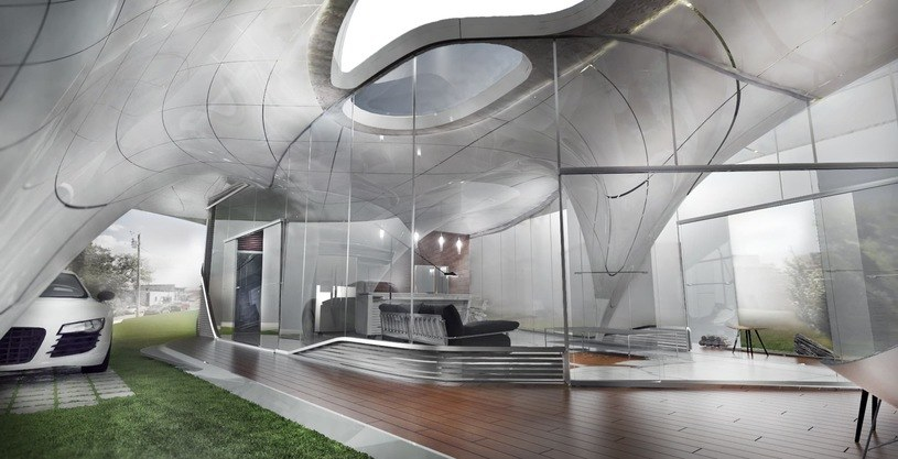 Dom z drukarki 3D w Tennessee /materiały prasowe