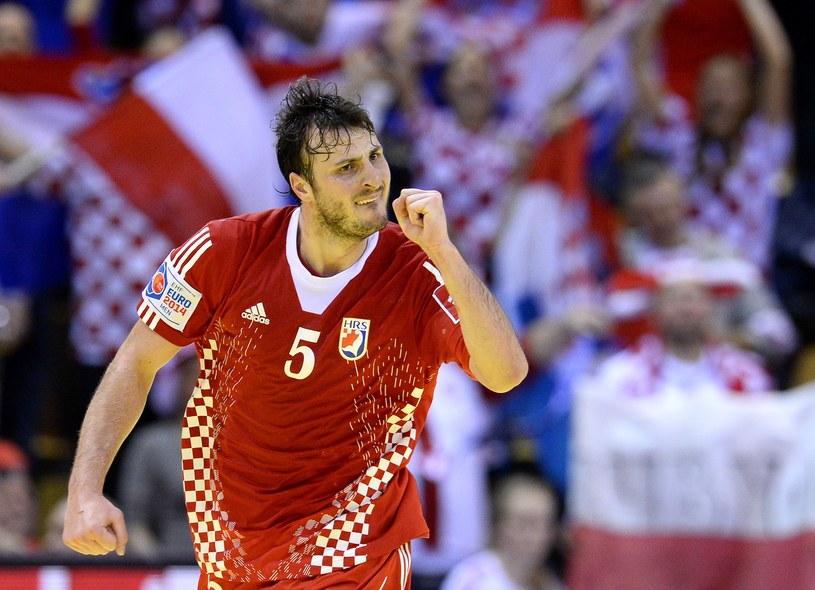 Domagoj Duvnjak, gwiazda reprezentacji Chorwacji /AFP