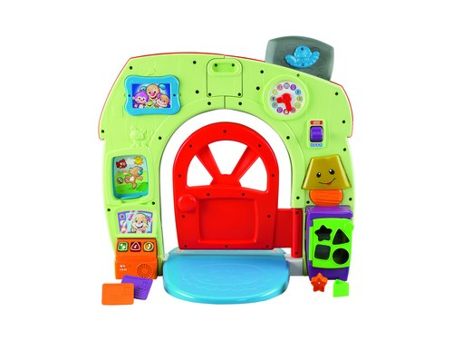 """Domek szczeniaczka - nowa zabawka z linii """"Ucz się i Śmiej"""" od Fisher-Price /materiały prasowe"""