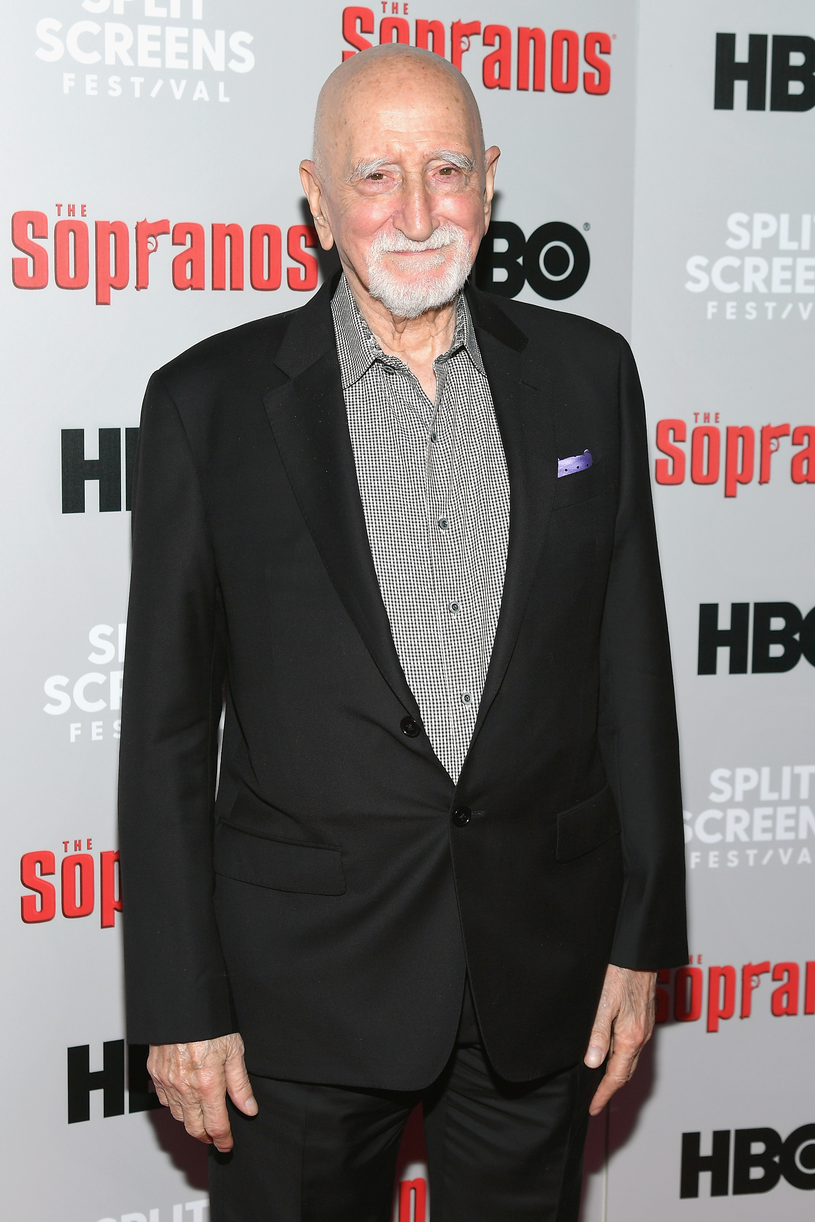 "Dominic Chianese, w filmie Corrado ""Junior"" Soprano /Getty Images"