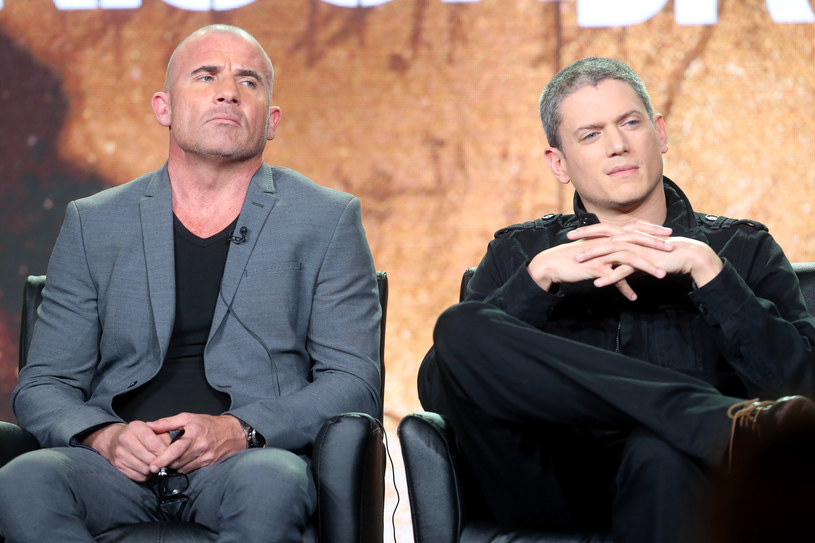 Dominic Purcell oraz Wentworth Miller /Frederick M. Brown /Getty Images